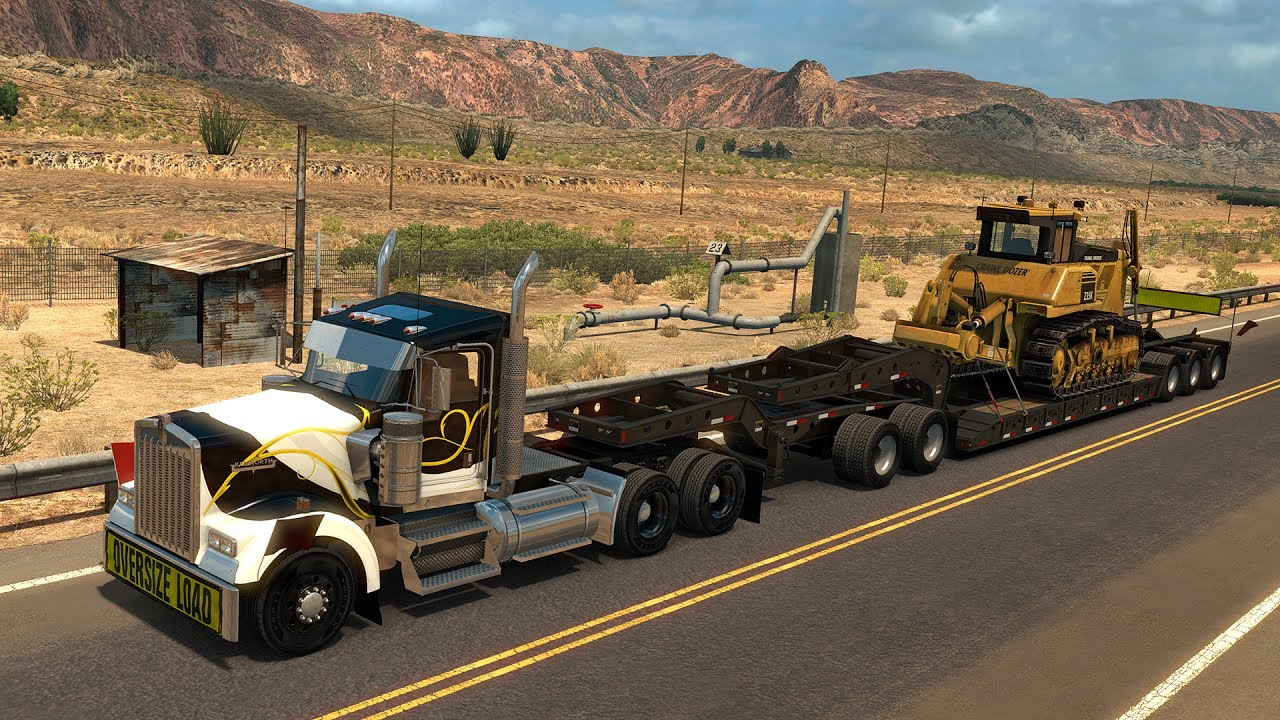 AMERICAN TRUCK SIMULATOR – HEAVY CARGO PACK (DLC) - Download (Game by SCS  Software 2017)