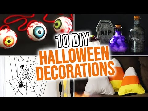 10 Diy Halloween Decoration Ideas Hgtv Handmade Youtube