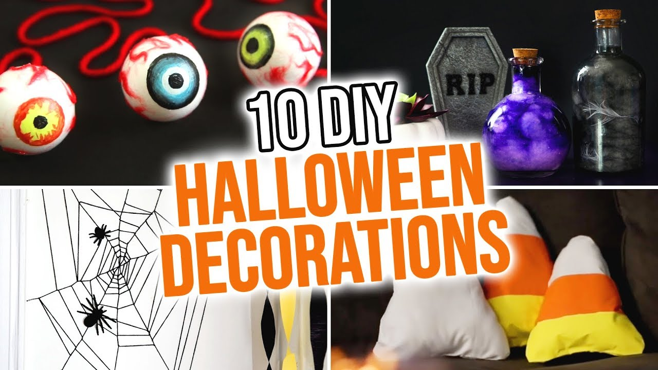 Country living editors select each product featured. 10 Diy Halloween Decoration Ideas Hgtv Handmade Youtube
