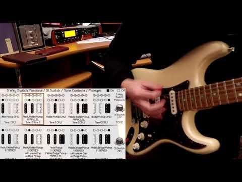 Samarium Cobalt Noiseless Pickups Fender American Deluxe