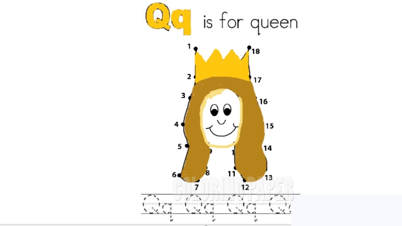 Connect the dots puzzle game dot to dot fun activities for kids connect the dots puzzle game dot to dot fun activities for kids qq is for queen altavistaventures Image collections