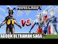 Ultraman Zero!! Dyna!! Cosmos !! | Showcase Addon Minecraft Ultraman Saga | ウルトラマンサーガ