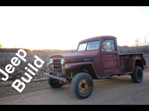 1950 Jeep Willys Build   The Truck (Part 1)