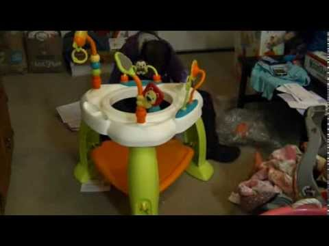 Time lapse - Putting a bouncy seat together