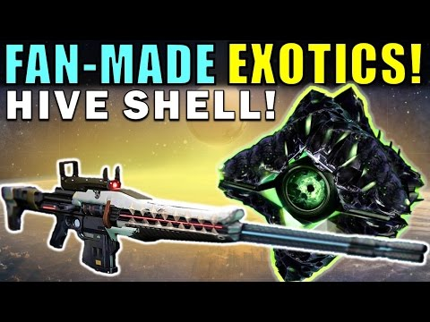 Destiny: FAN-MADE EXOTICS! | HIVE GHOST! | Submit YOUR Exotic Idea! | Part 48