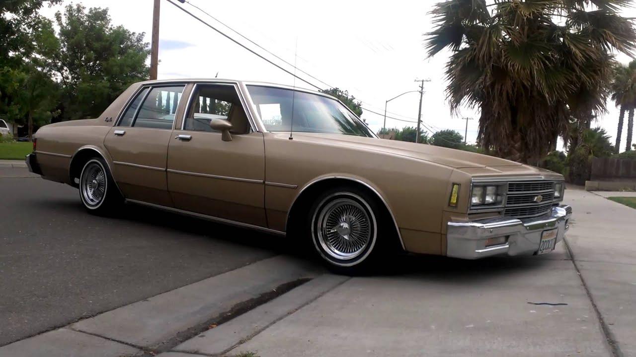 85 Impala Box Chevy Lowrider Taken Off