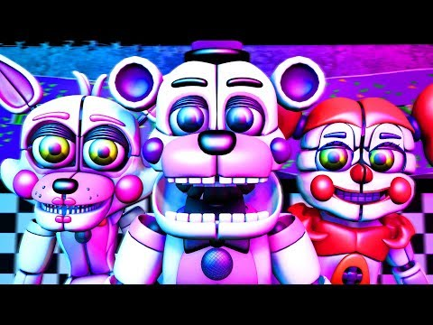 Five Nights at Freddy's Song (FNAF Funtime SFM)(TIFWhitney Remix) thumbnail