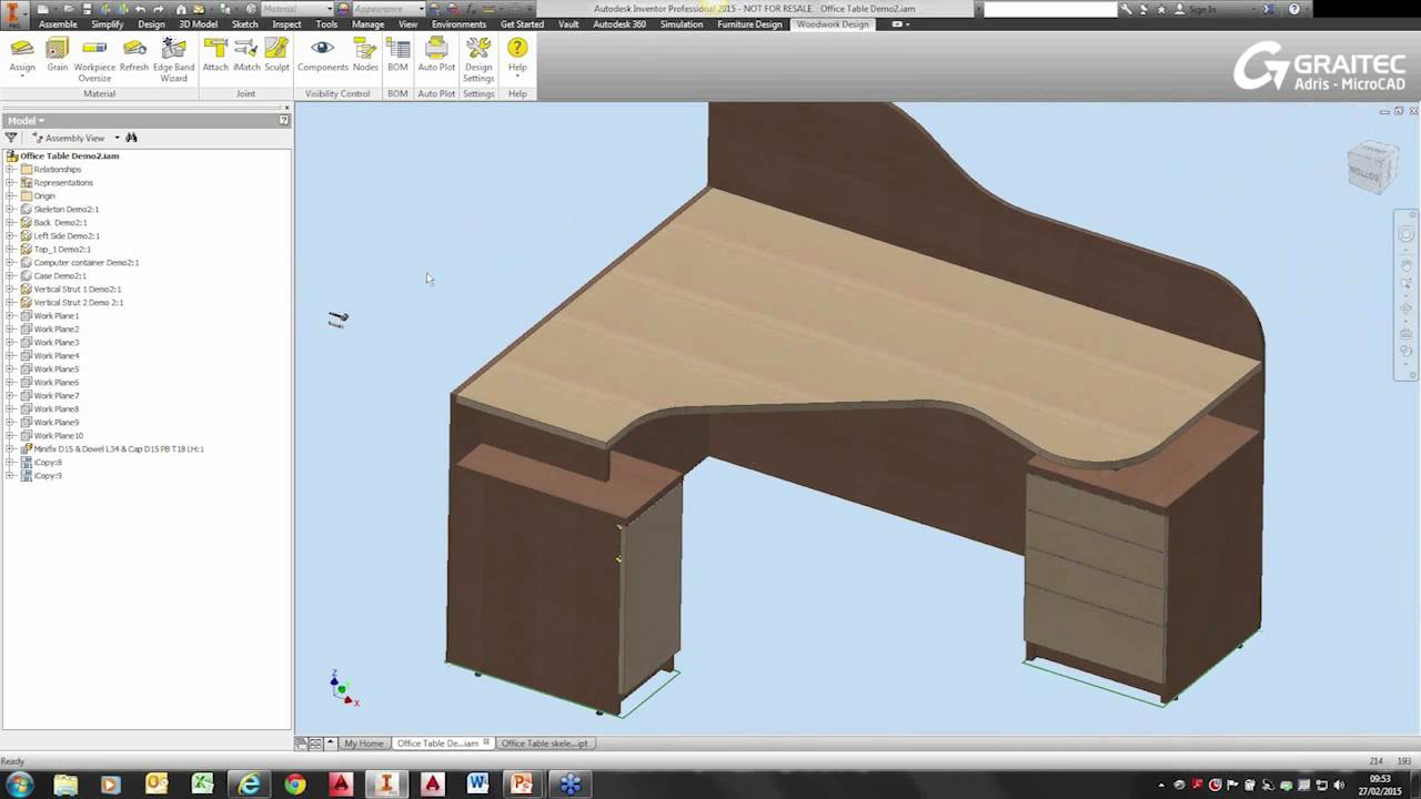 woodwork for inventor webinar