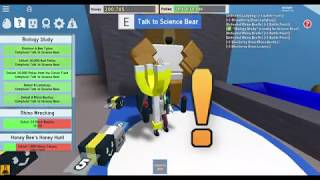 BIOLOGY STUDY SCIENCE BEAR QUEST PART 2 FINISHED ROBLOX BEE SWARM SIMULATOR