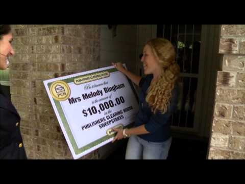 PCH Prizes £100k winner - Presented by Cheggers - YouTube