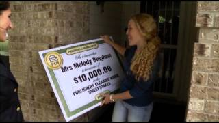 $10,000 Winner - Melody Bingham