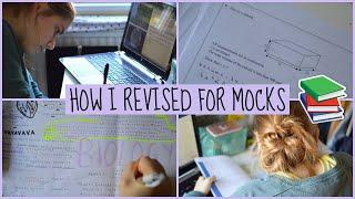 How I Revised for Mocks! | EvieEllen