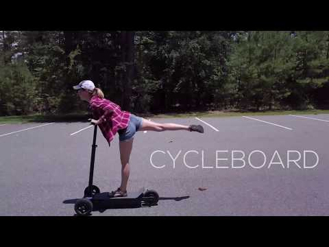 Cycleboard Review (Day 1) and Fun Compilation