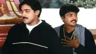 Priyamaina Neeku Scene - Sivaji Takes Tarun To Temple To Show His Fiance - Tarun,Sivaji - HD