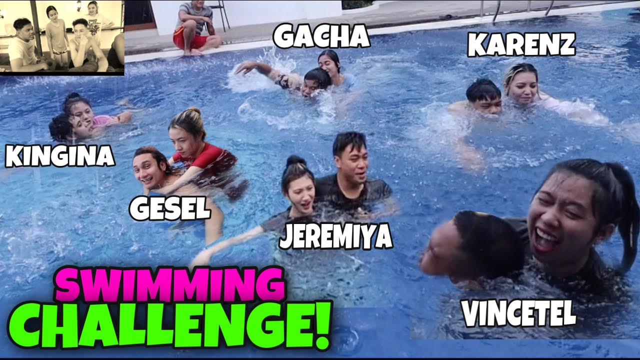 BRUSKO COUPLE SWIMMING CHALLENGE(MAY NAGTAMPO)