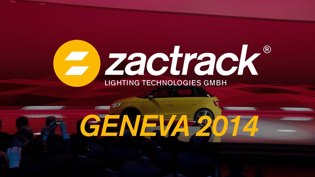 zactrack for AUDI at Geneva Motor Show 2014