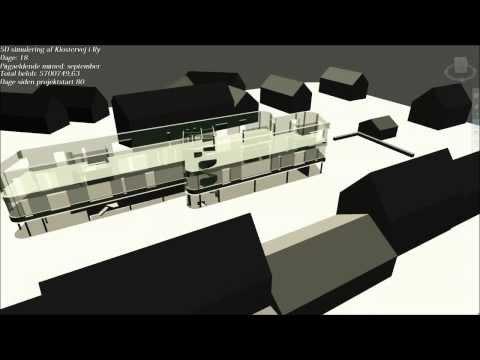 Navisworks 5D simulation