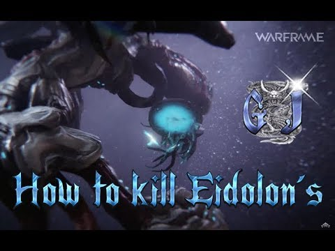 Warframe -  How to Kill Teralyst Eidolon´s  - Strategy & Guide.