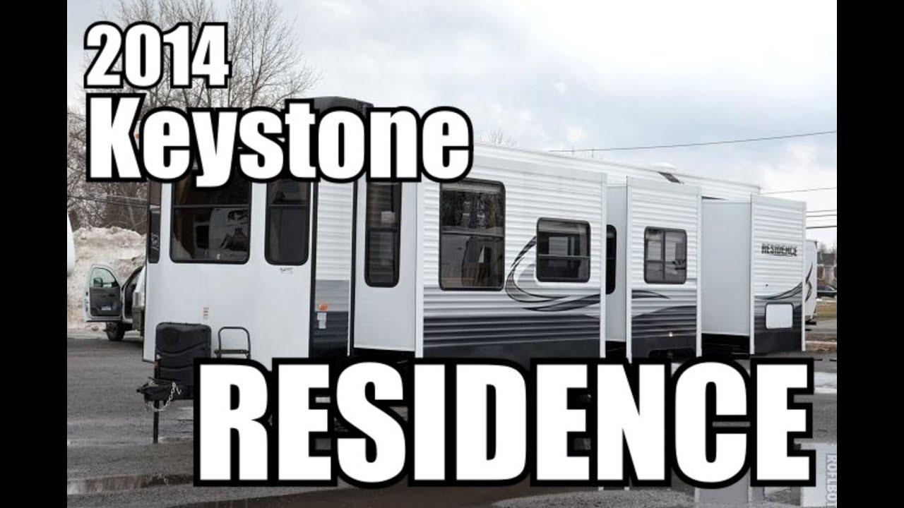 Park Model Rv >> 2014 Keystone Residence 404DN | Park Model Travel Trailer - YouTube