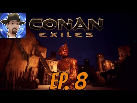 WHITE TIGER FIGHT- EPIC LOOT! CONAN EXILES - S2 EP. 8