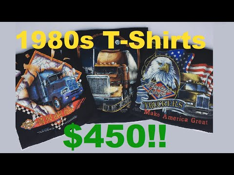 I Sold These Three T-Shirts For $450! | Buying At Thrift Stores To Sell Online