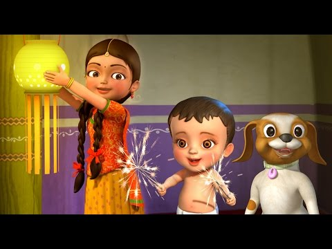 Diwali Song | Hindi Rhymes for Children | Infobells