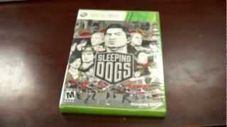 Sleeping Dogs - Xbox 360 Unboxing