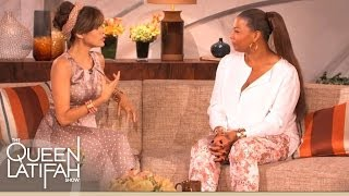 Eva Mendes Reveals a Family Beauty Secret to Queen Latifah