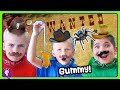MYSTERY Gummy Vs Real! Western Theme with HobbyHickory and HobbyKids PART 1