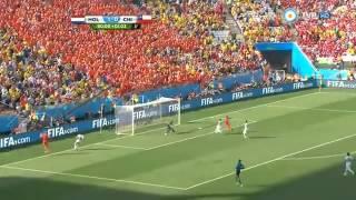 Holanda 2 - 0 Chile Mundial Brasil 2014 - Directv sports