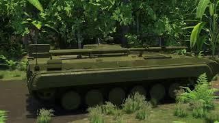 Модернизация БМП 1КШ
