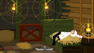 Черный кролик-рисуем мультфильмы 2