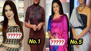 ranking of most beautiful actress of serial Tarak Mehta ka ooltah chashmah,Disha vakani,Munmun Dutta