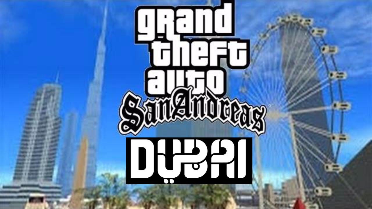 GTA San Aandreas Dubai | How to Download Dubai Mod (Auto-install)
