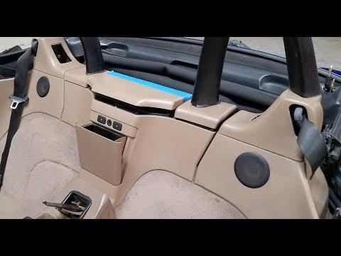 BMW Z3 Rear Plastic Deck Storage Removal E36/7