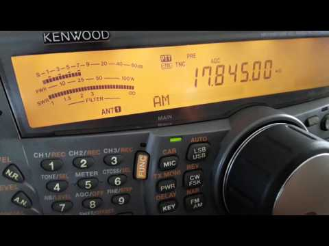 Radio Ergo (transmitter Dhabbaya, United Arab Emirates) - 17845 kHz