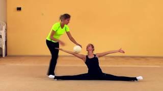 RU | Видео урок 17. Комплекс упражнений с мячом для ловли одной рукой
