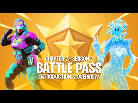 Fortnite: Chapter 2 - Season 2 Battlepass (Overview)