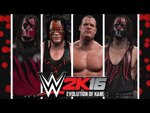 WWE 2K16 - Kane Entrance Evolution! ( Smackdown Know your  role to WWE 2K16 )