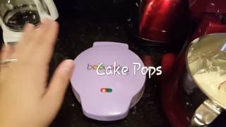 Vanilla Cake Pops with The Baby Cakes Cake Pop Maker and Wilton Melting Pot