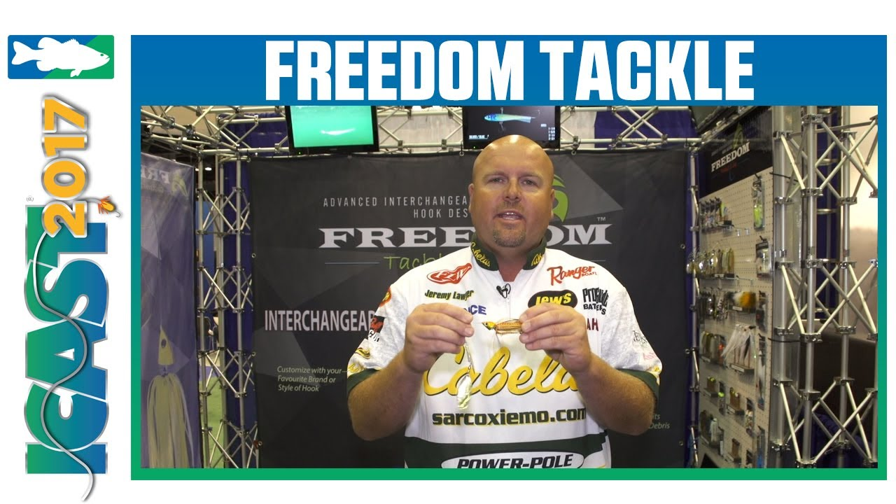 New 3/4oz Freedom Tackle Spinnerbait with Jeremy Lawyer