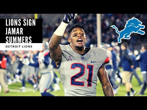 Lions SIGN Jamar Summers! BREAKING NEWS: Detroit Lions Talk