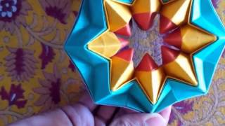 Repeat youtube video Origami Magic Star
