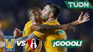 ¡Golazo de Tigres! Quiñones abre el marcador | Tigres 1 - 0 Atlas | Liga Mx - CL 2020 J-3 | TUDN