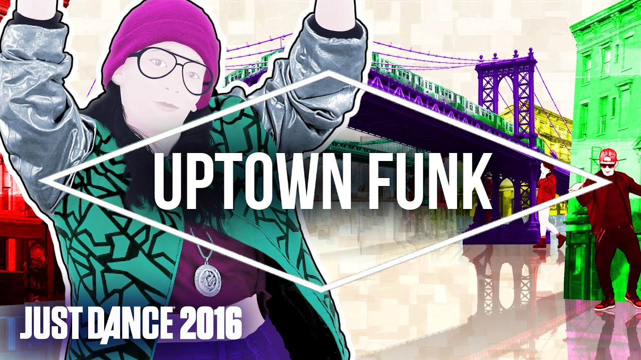 Just dance 2016 uptown funk by mark ronson ft bruno mars official