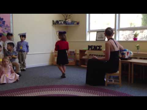 Glen Oaks Montessori - Christina's graduation