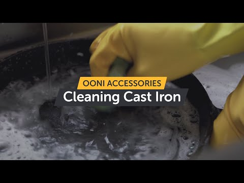 How to clean Ooni cast iron