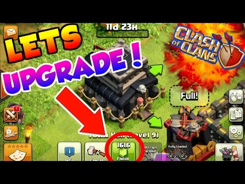 Clash Of Clans   WE ARE MAXED OUT OUT   TIME TO UPGRADE TO TOWN HALL 10!  