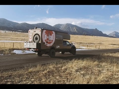 the ford earth roamer XV-LTS camper makes off-the-grid living a reality