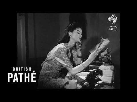 How To Be a Secretary (1944 Pathe Instructional Video)